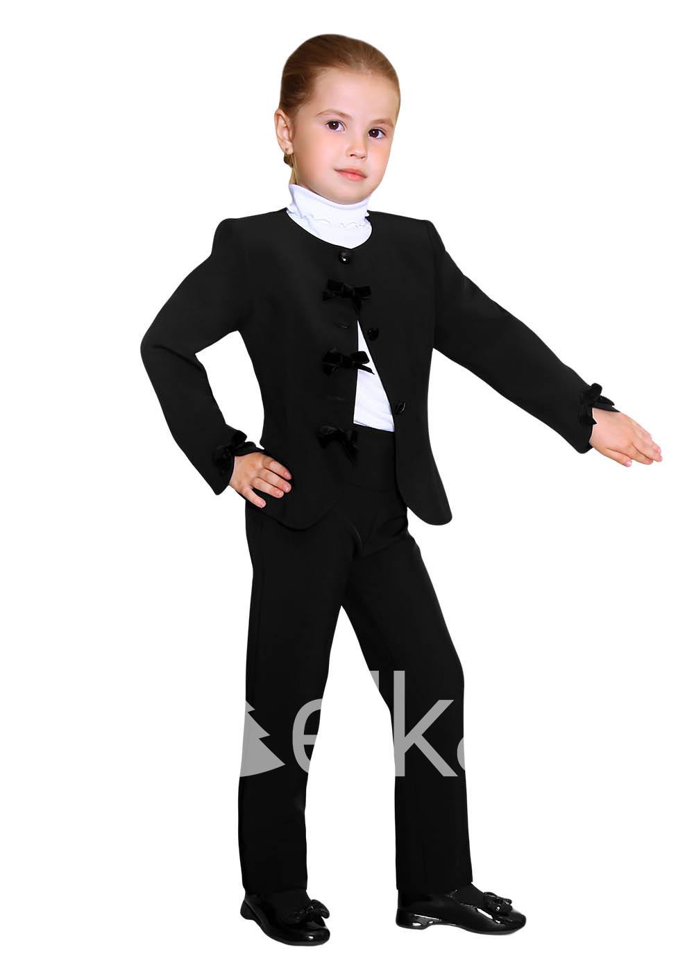 Пиджак черный для девочки