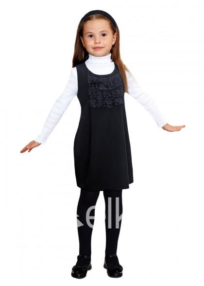 Сарафан черный детский