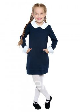 Детское платье темно-синие