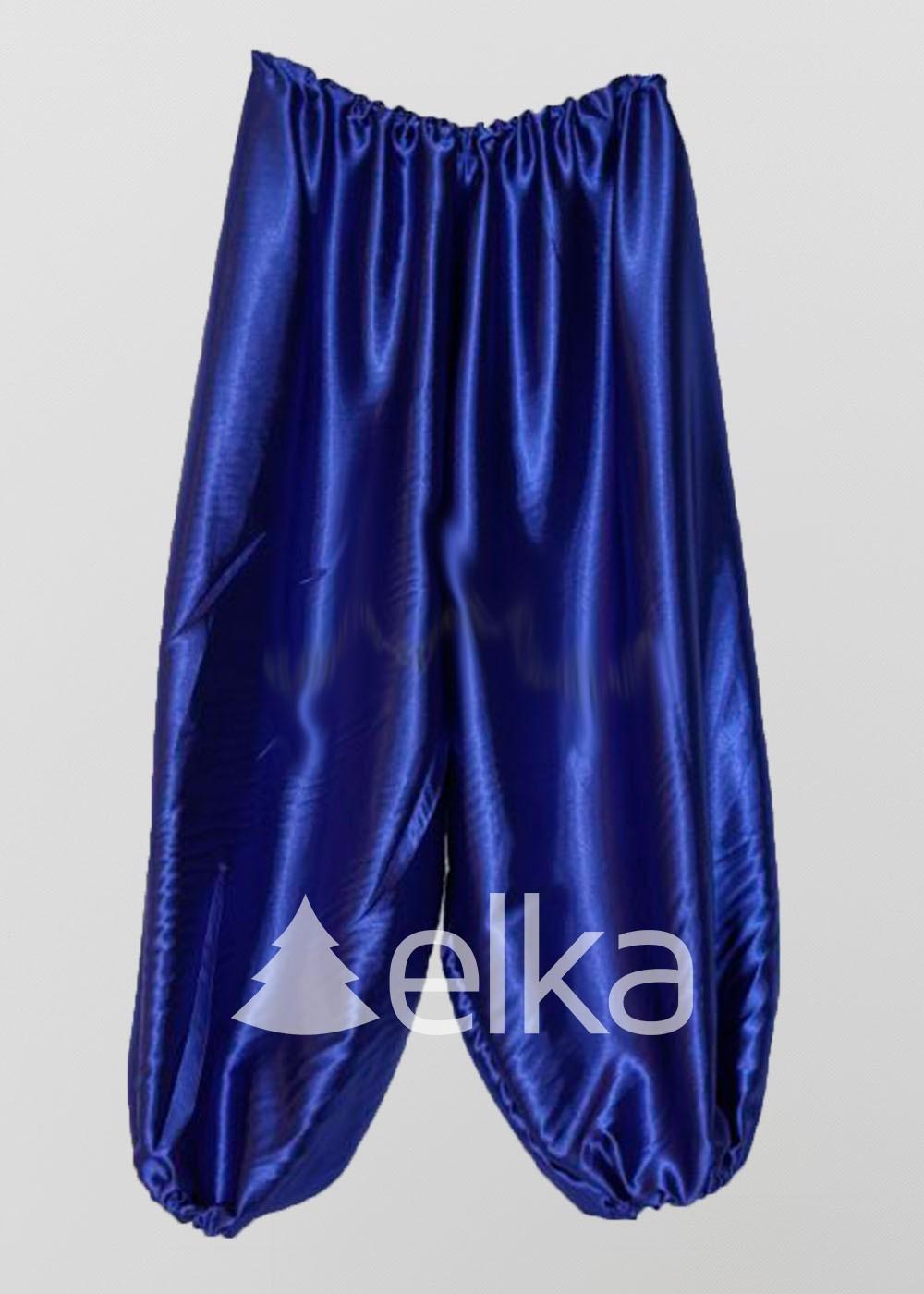 Шаровары синие