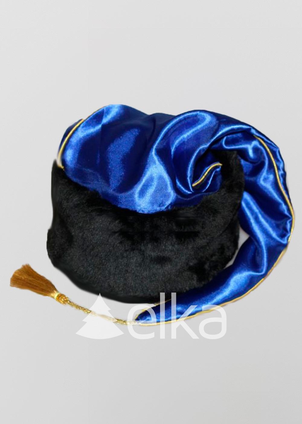 Шапка Запорожского казака синяя