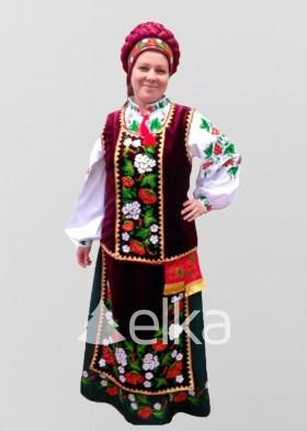 Национальный костюм Калина