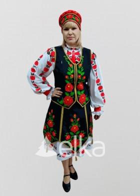 Национальный костюм Славянка