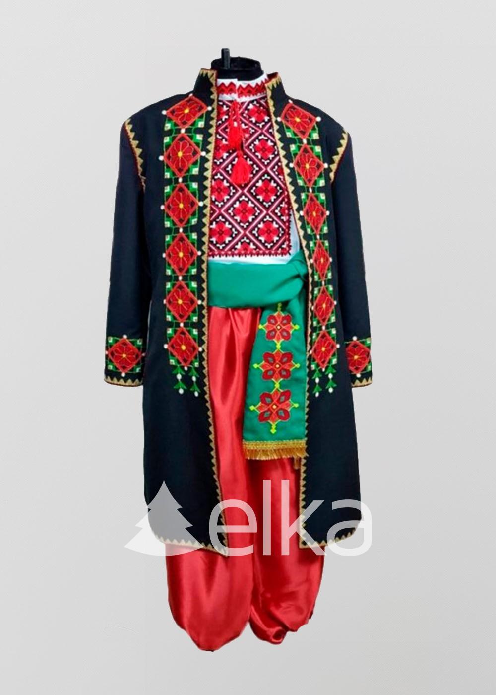 Национальный костюм мужской