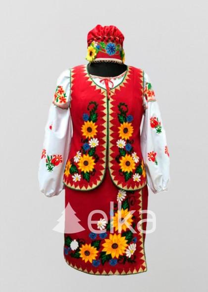 Национальный костюм Барвы