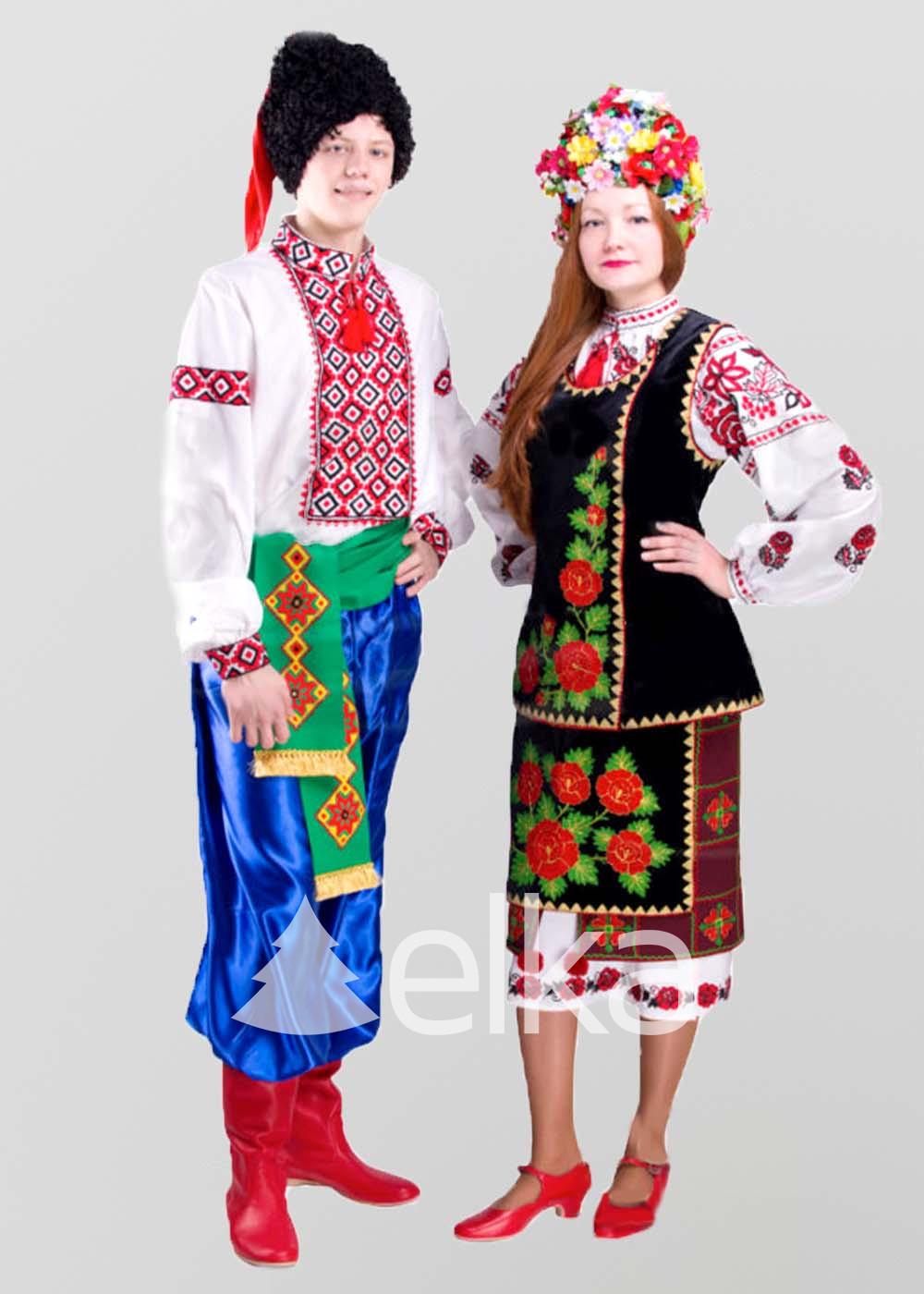 Национальные танцевальные костюмы