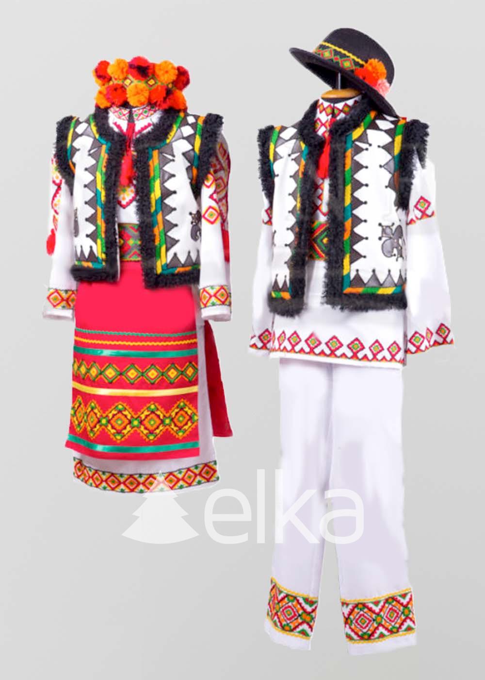 Национальный Гуцульский костюм