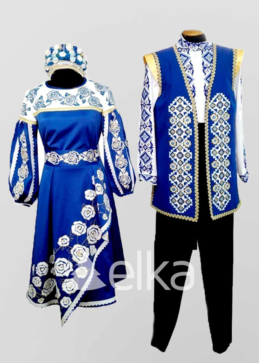 Сценические украинские костюмы