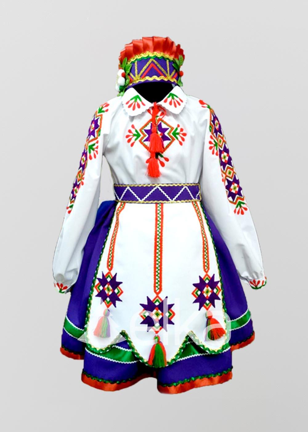 Детский народный костюм
