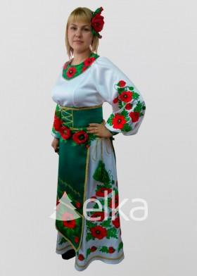 Национальный костюм Гуцульский