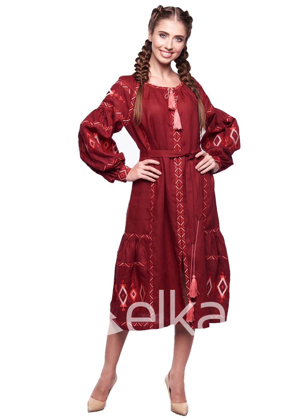 Платье вышиванка Василиса