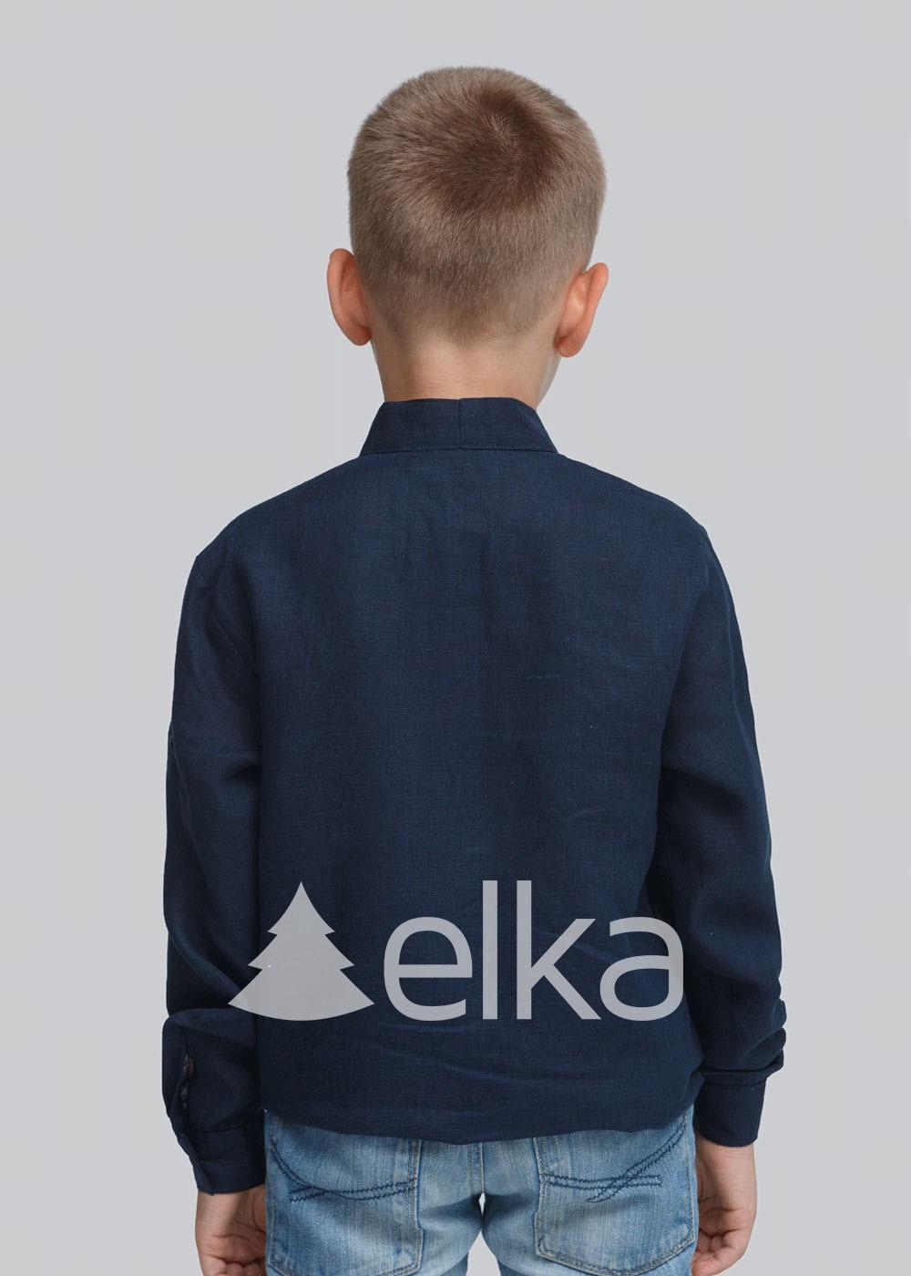 Детская вышиванка для мальчика Троица