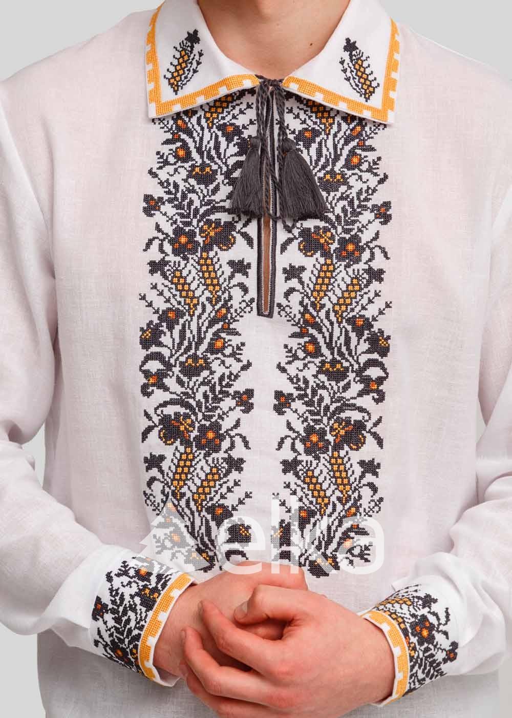 Мужская вышиванка Нация