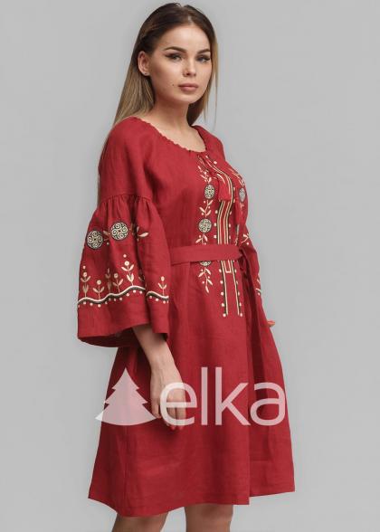 Вышиванки платья