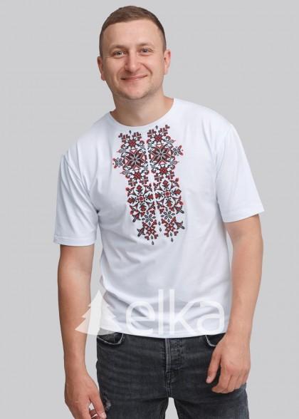 Мужская вышитая футболка