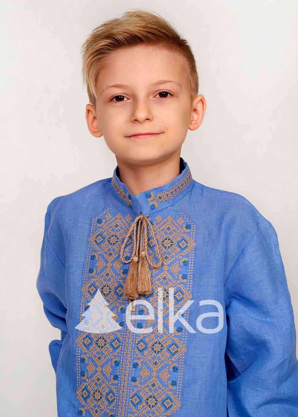 Детская вышиванка для мальчика Украина