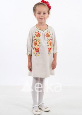 Платье вышиванка детское