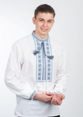 Светлая мужская вышиванка