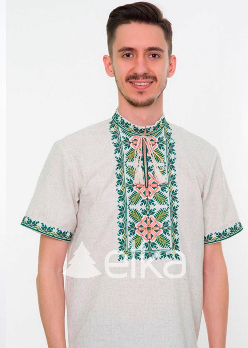 Мужская вышитая рубашка Классика