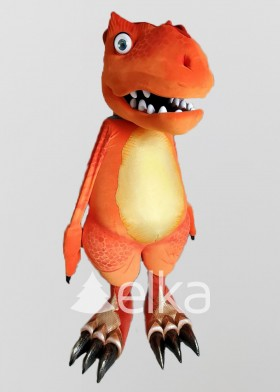 Ростовая кукла Бадди динозавр