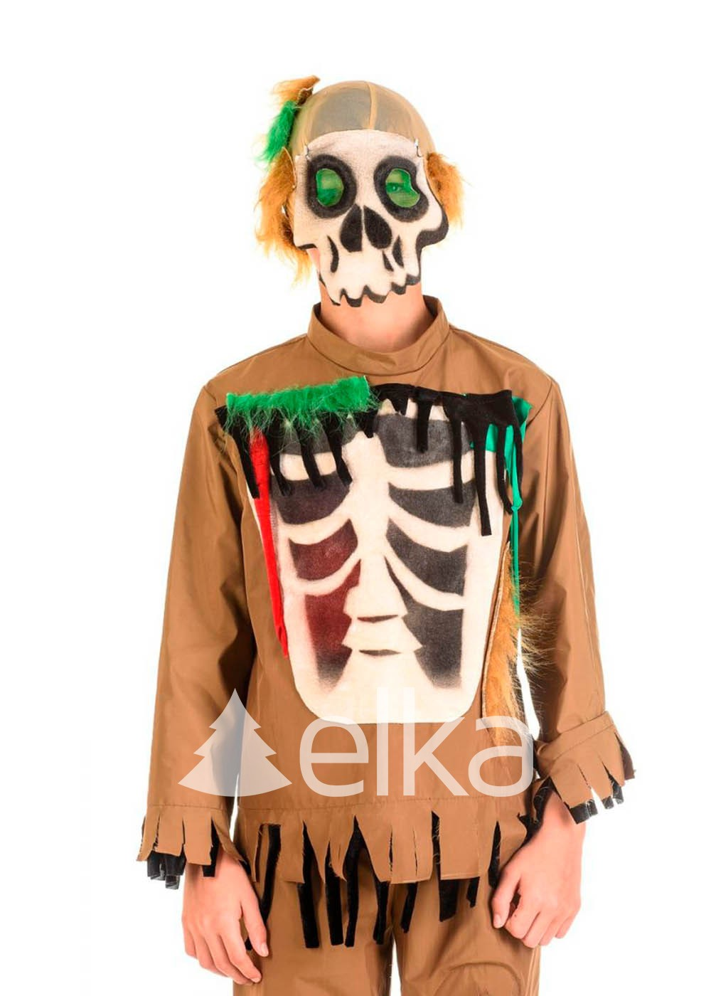 Костюм Зомби скелет