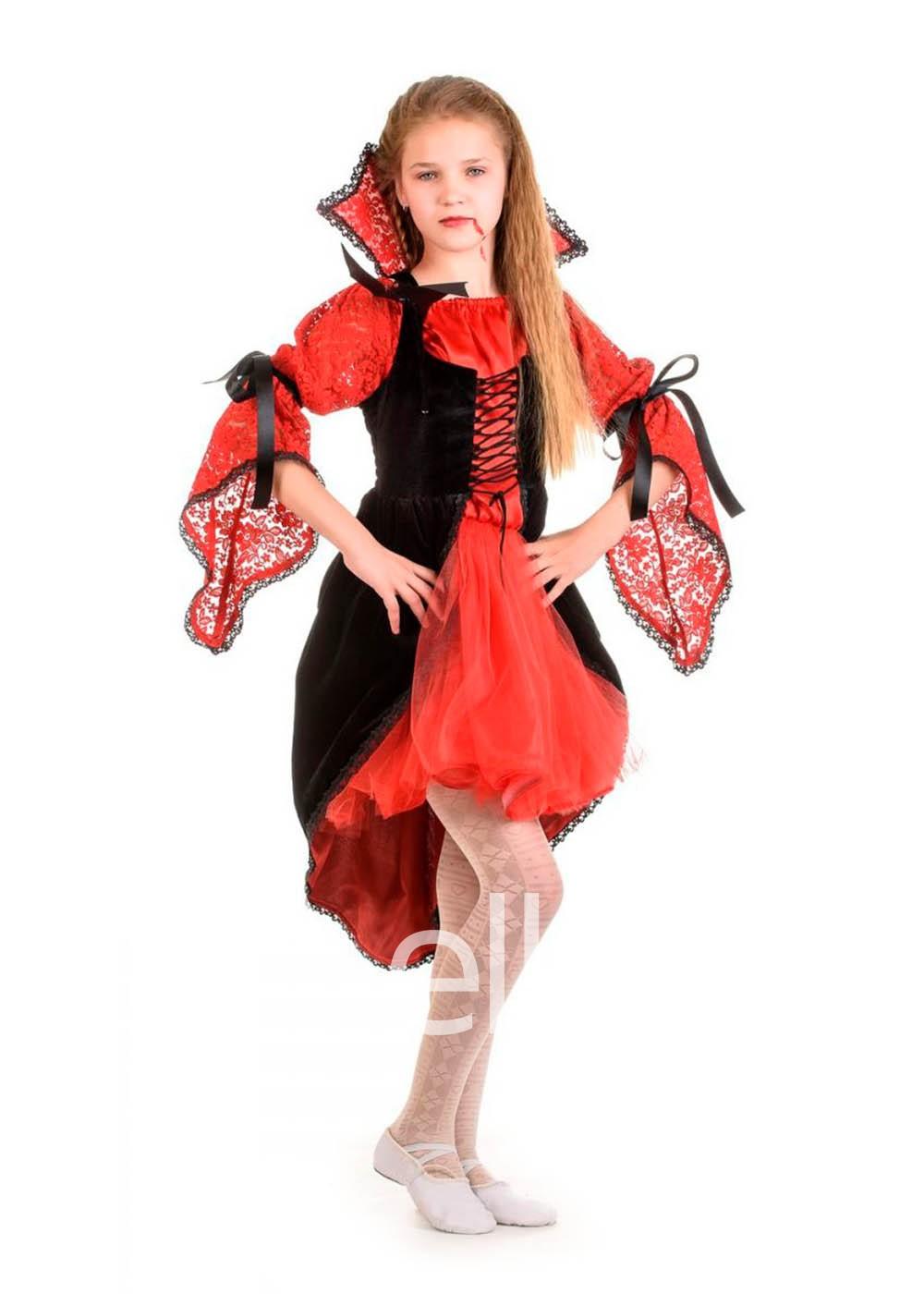 Костюм Вампирша для девочки
