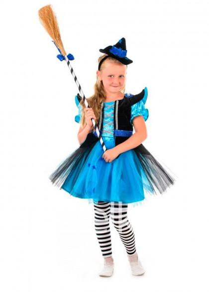 Костюм Ведьмочка для девочки