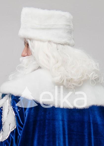 Набор Борода и Парик Деда Мороза премиум