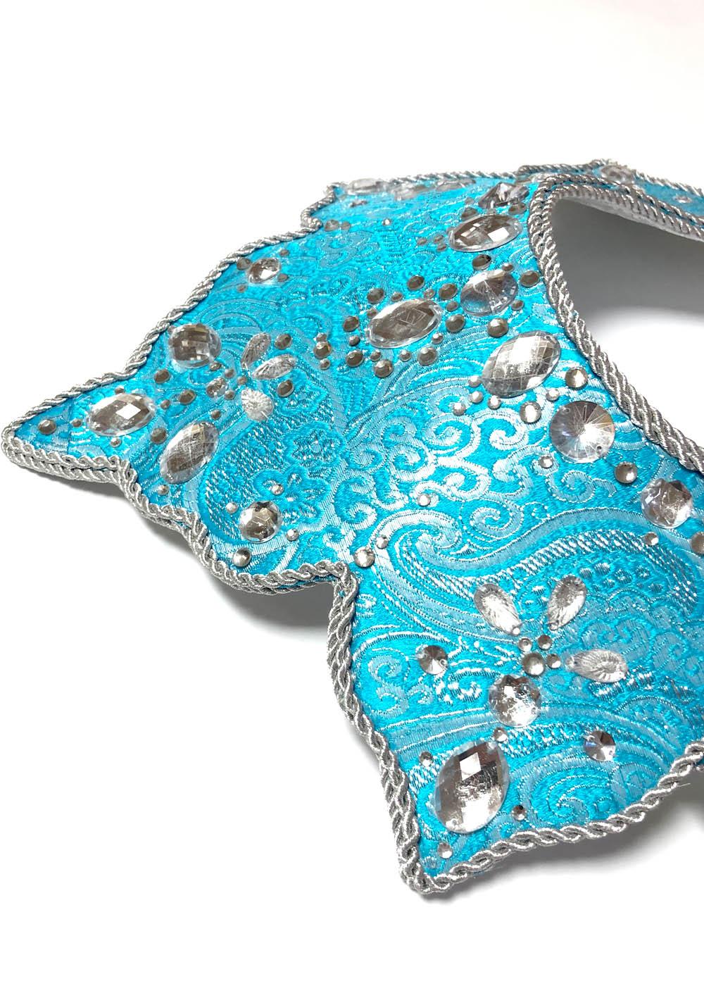 Кокошник Ирис голубой