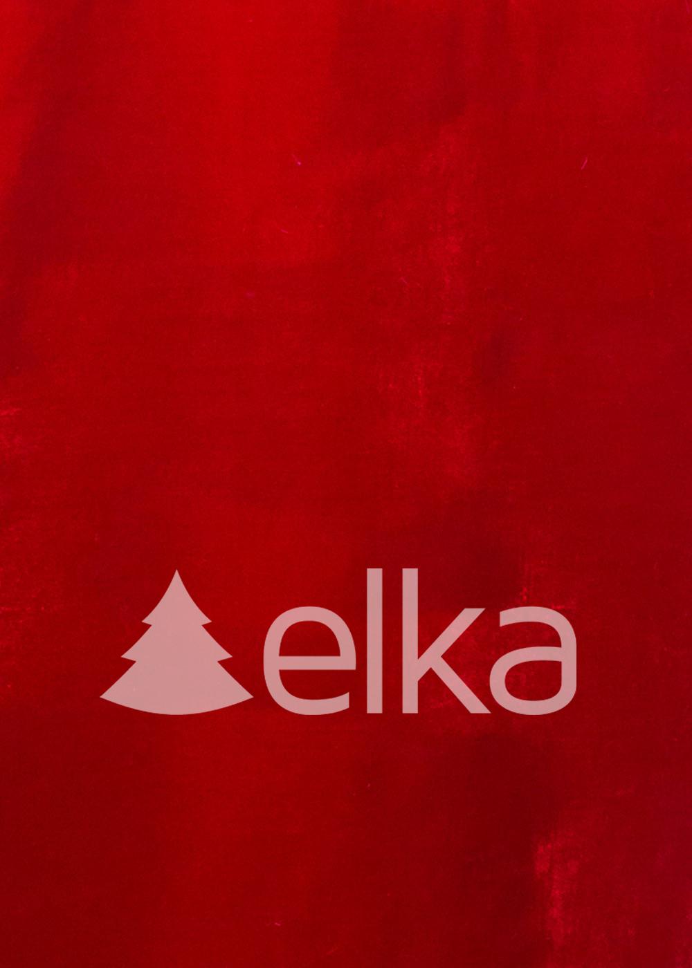 Мешок для подарков красный 48*60