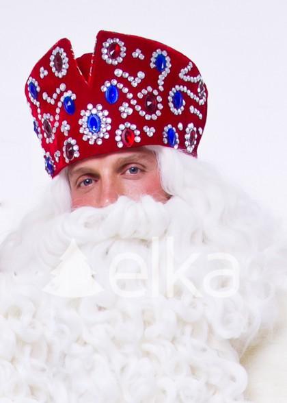 Шапка Деда Мороза Царская