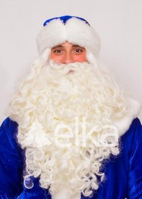 Шапка Деда Мороза синяя