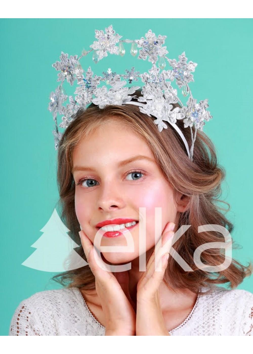 Коронка Снежинка-волшебница