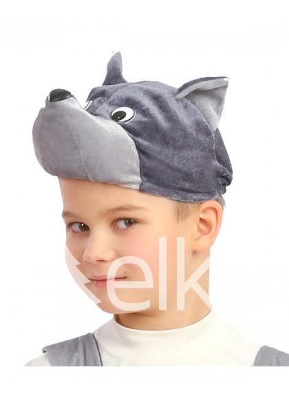 Шапка - маска Волка