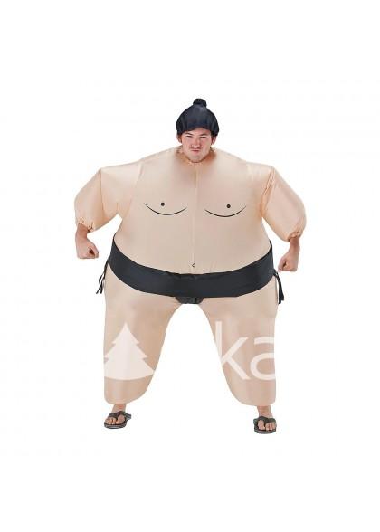 Борец сумо надувной