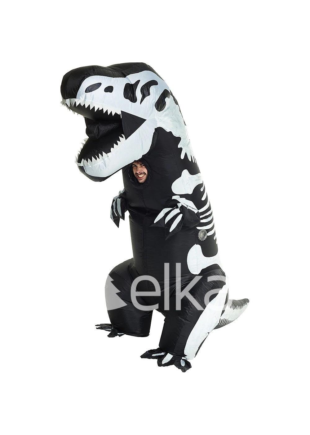 Надувной костюм Тирекс