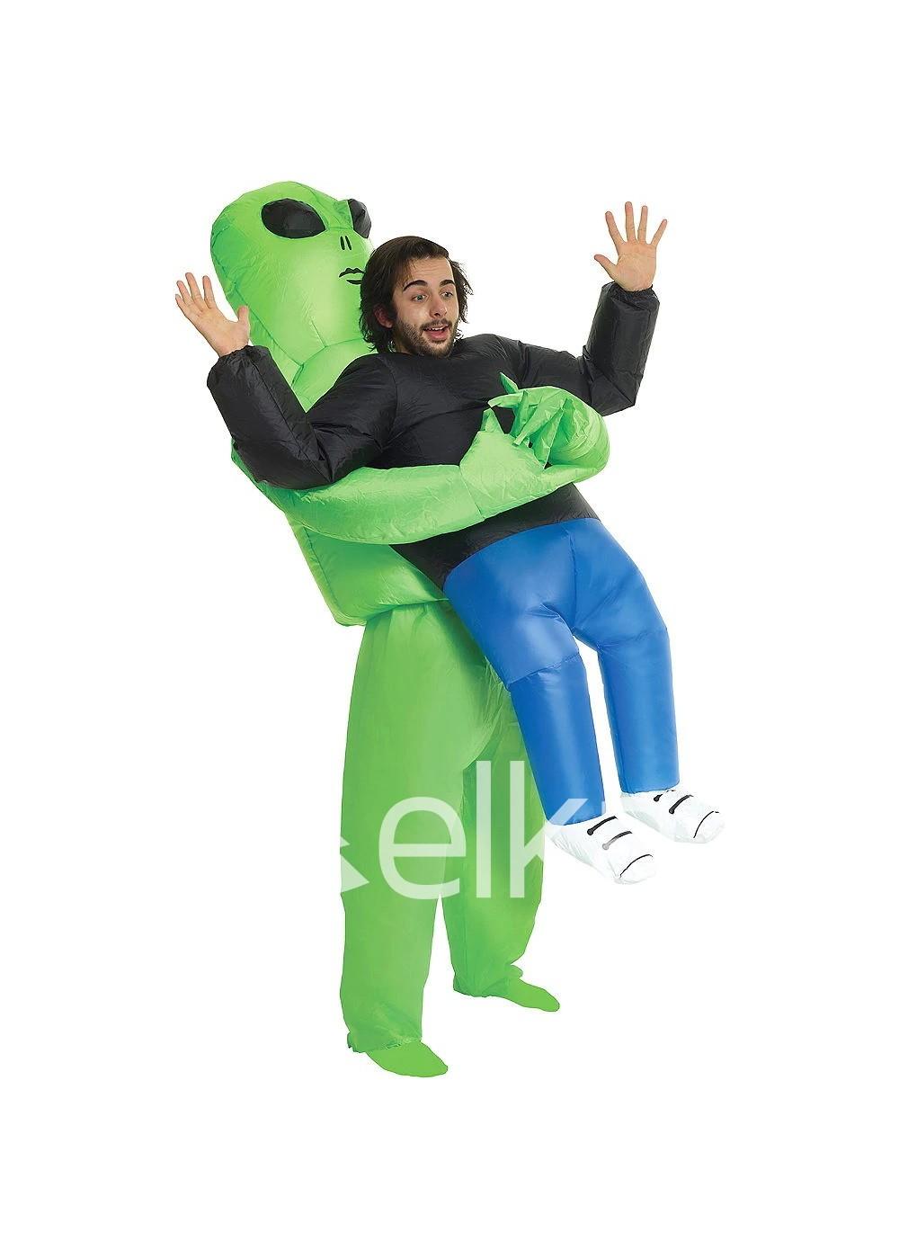 Надувной костюм Инопланетянин