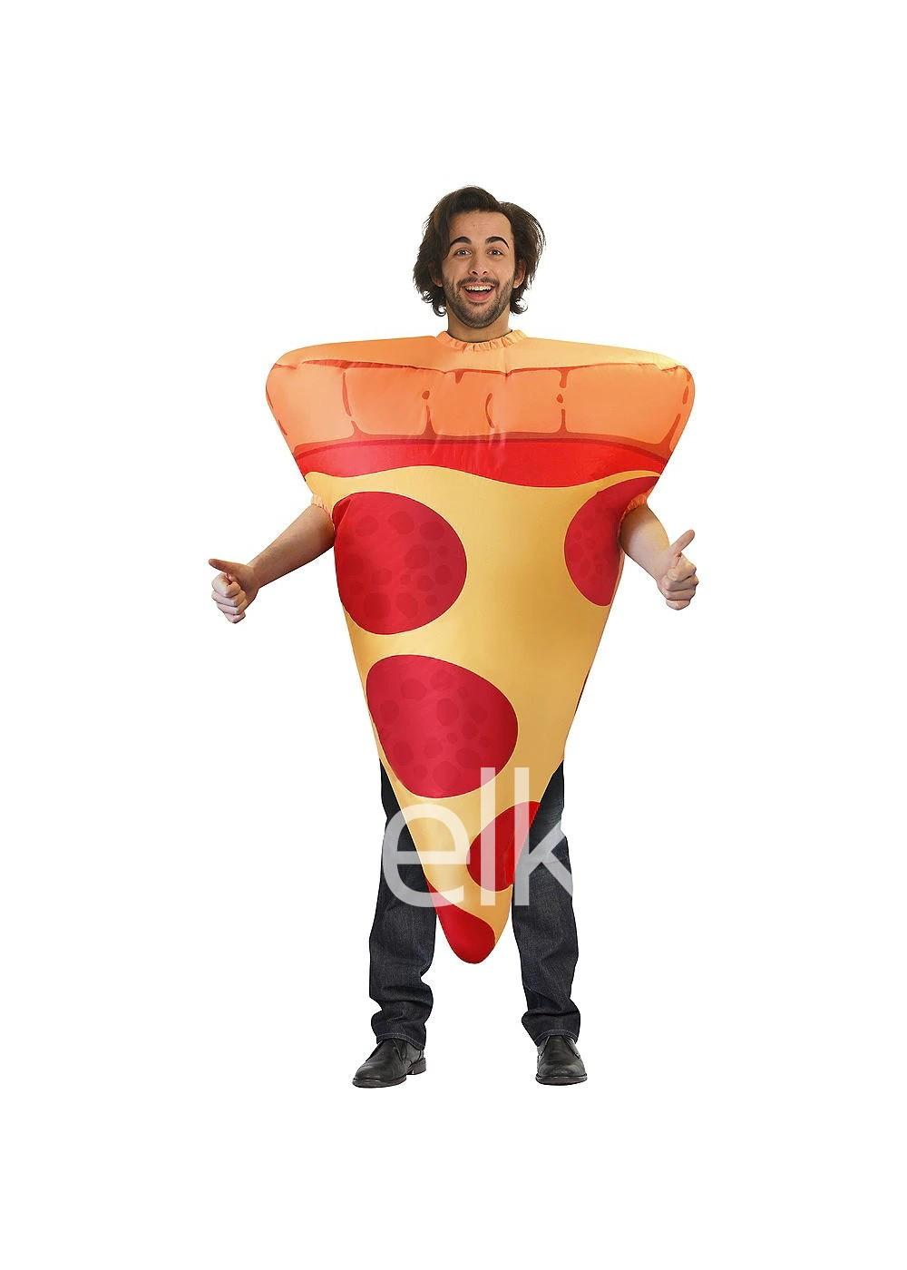 Надувной костюм пиццы