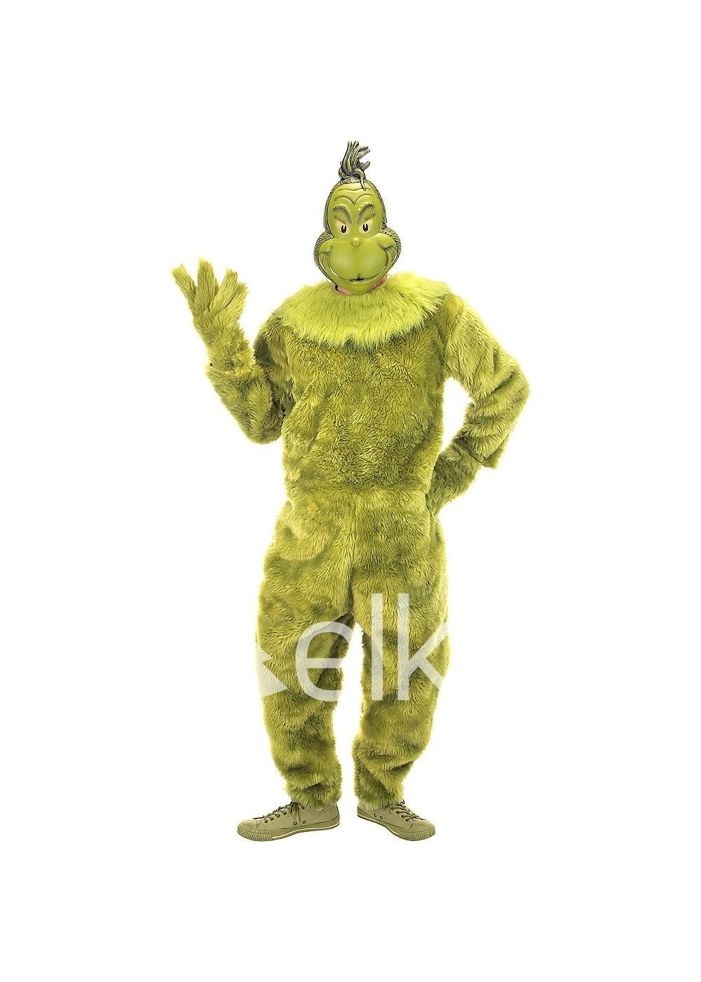 Гринч рождественский костюм