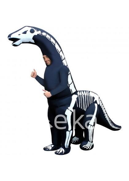 Надувной Костюм Диплодок динозавр