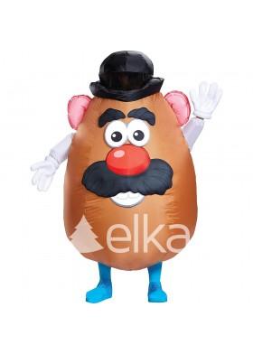 Надувной костюм Картофельной головы
