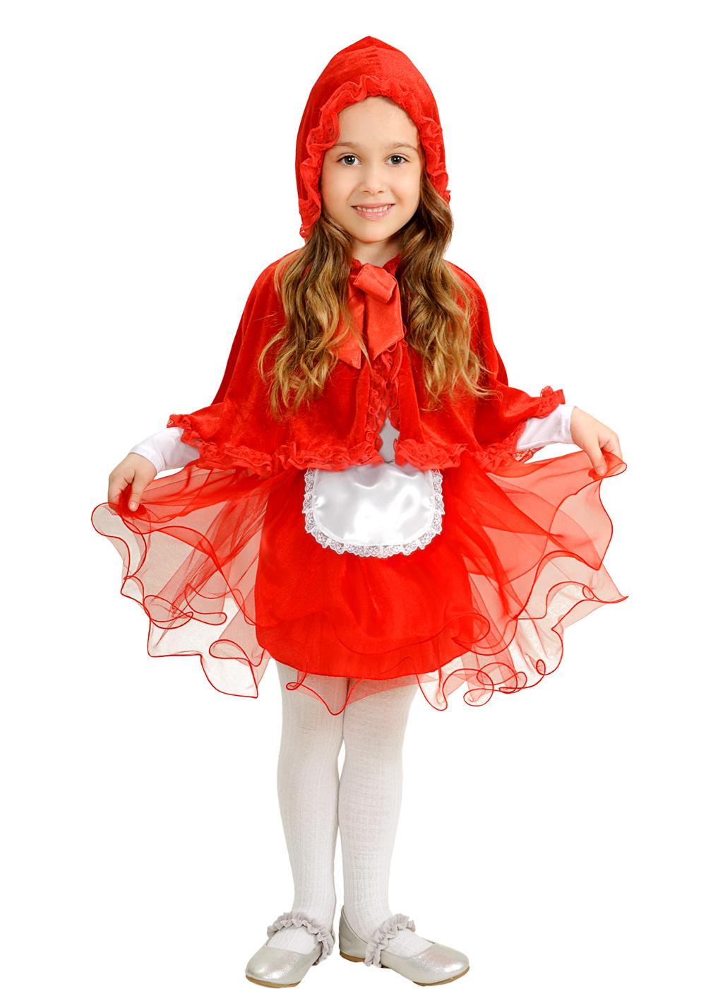 Красная Шапочка с капюшоном