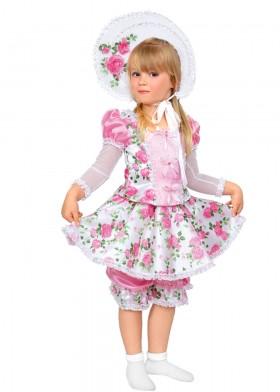 Кукла с розами