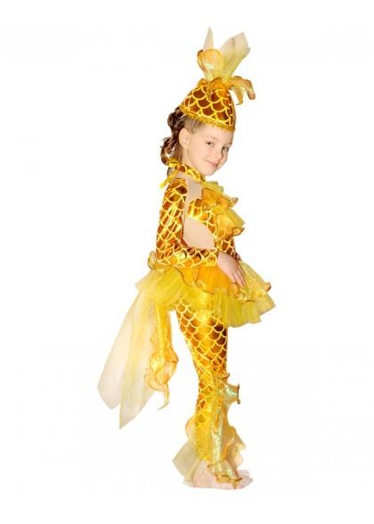 Русалочка золотая рыбка