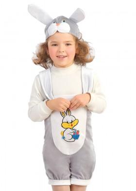 Новогодний костюм зайчика для мальчика