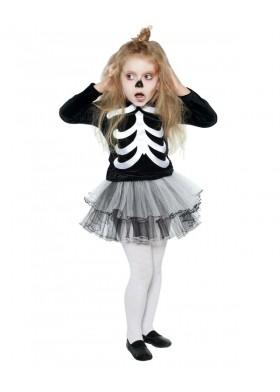 Скелет девочка