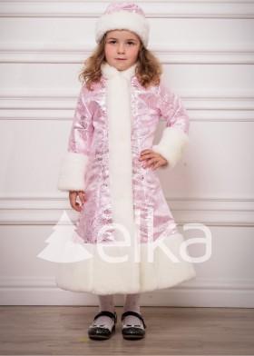 Детский костюм Снегурочки Пинк Кид