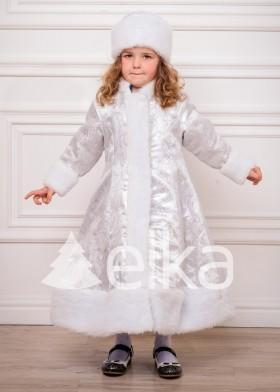 Детский костюм Снегурочки Вайт Кид
