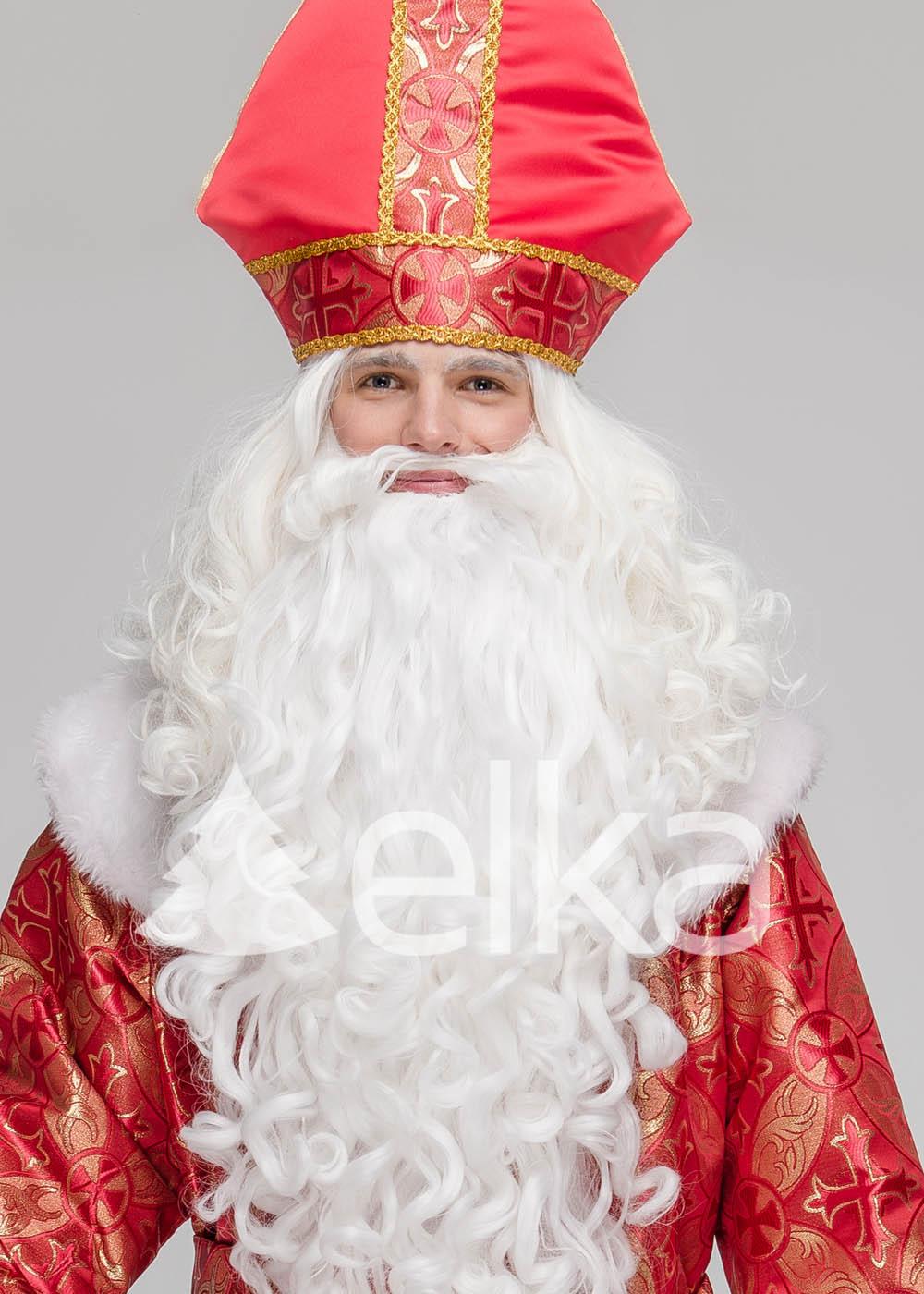 Костюм Святого Николая Спасский красный