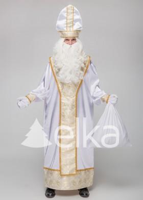 Костюм Святого Николая Духовный белый